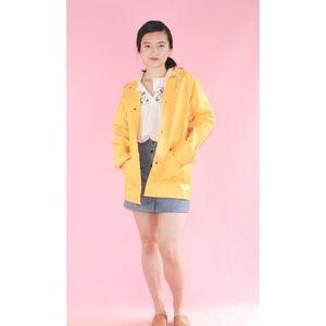 VTG 1990s Yellow Raincoat